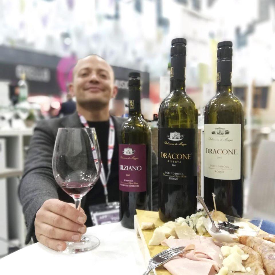 federico perdisa e i vini palazzona di maggio